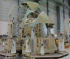 Fuselage nose assembly station