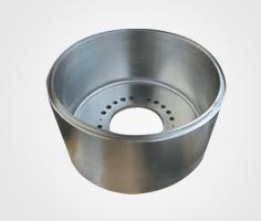 Machined treated drun (reaming class 7) for industrial alternators